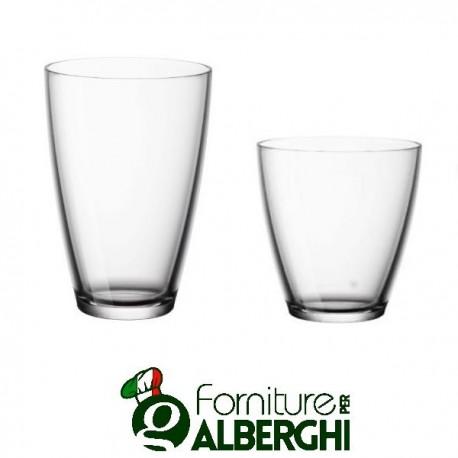 Bicchiere ZENO da 26 cl a 40 cl vetro Bormioli Rocco