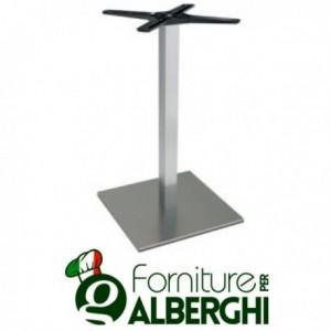 Base per tavolo in acciaio...