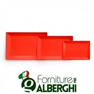 Piatto osaka rosso stoneware