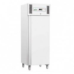 Armadio frigo refrigerato 600 Lt. TN Temp. Pos. +2°/+8°C. In lamiera verniciata bianca GN 2/1