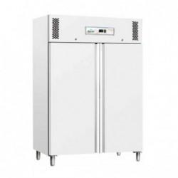 Armadio frigo refrigerato 1200 Lt. TN Temperatura Positiva +2°/+8°C. Realizzato in lamiera verniciata bianca