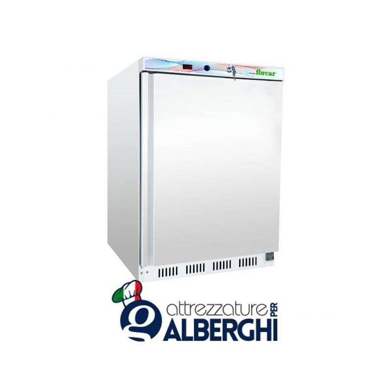armadio frigo refrigerato congelatore 200 lt. in lamiera verniciata