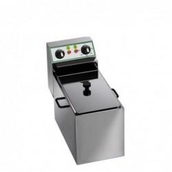 Friggitrice elettrica vasca singola 4 Lt – 2.5 Kw.