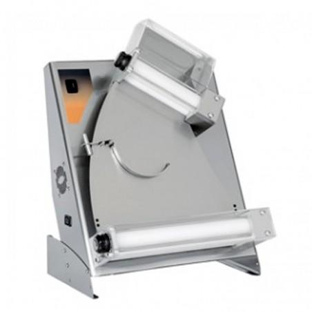 Stendipizza Ø pizza cm.40 a rulli inclinati in acciaio inox professionale