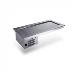 Drop In refrigerato da incasso – cm. 152×70