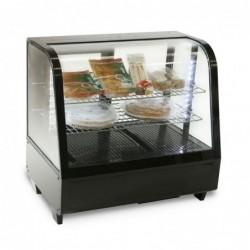 Espositore Vetrina refrigerata da banco con vetro curvo Lt.100