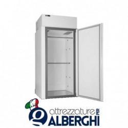 Minicella refrigerata -18/-20°C 1300 Lt. pre-verniciata atossica bianca Senza motore remoto Dim. 100x100x212 cm