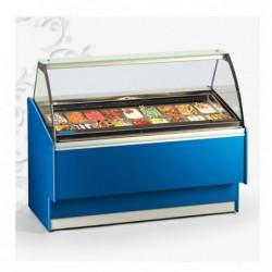 Vetrina Banco Frigo gelato 6+6 vaschette – Temp. -16°/-18°C