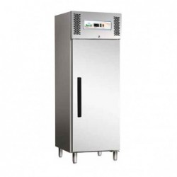 Armadio refrigerato 600 Lt. TN Temp. Pos. +2°/+8°C. Acciaio inox 18/10