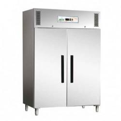 Armadio refrigerato 1200 Lt. TN Temp. Pos. +2°/+8°C. Acciaio inox 18/10