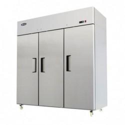Armadio refrigerato 1390 Lt. TN Temp. Pos. -2°/+8°C. Acciaio inox 18/10