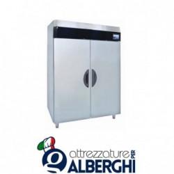 Armadio refrigerato frigo acciaio inox 1400 Lt. TN Serie MACCHEF -2°/+8°C Digitale touch