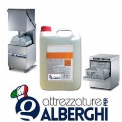 Detersivo Detergente ecologico privo di fosfati EDTA e  NTA per lavastoviglie – Taniche da 6 Kg.  • € 3.83 al Kg. •