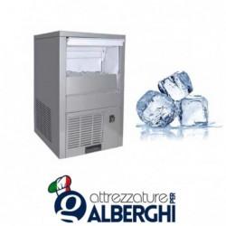 Fabbricatore/Produttore di ghiaccio cubetto cavo Kg 25/24h