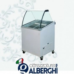 Vetrina Banco Frigo gelato 3 vaschette – Temp. -12°/-22°C