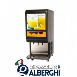 Erogatore distributore di bevande fredde succhi Fresh Juice 2 gusti