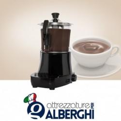 Erogatore di bevande calde, cioccolatiera macchina per cioccolata LOLA 3 litri