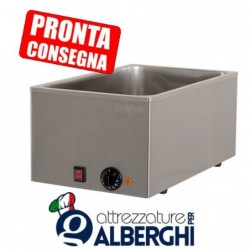 Bagnomaria GN1/1 in acciaio inox 340x540x250h mm