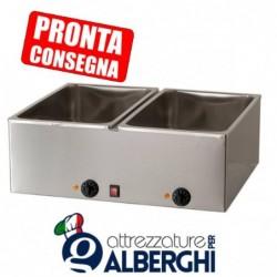 Bagnomaria GN1/1 in acciaio inox 690x540x250h mm