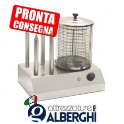 Macchina per hot dog in acciaio inox 420x300x400h mm