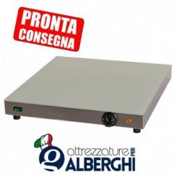 Piano caldo in acciaio inox 500x500x70h mm