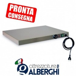 Piano caldo in acciaio inox 660x530x60h mm 2XGN1/1