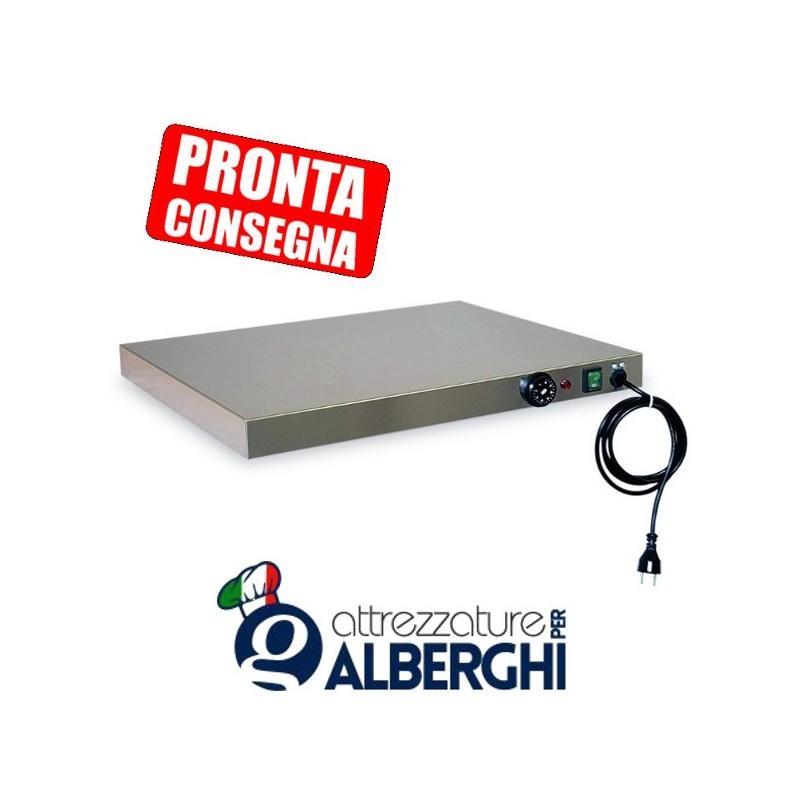Piano caldo in acciaio inox 990x530x60h mm 3XGN1/1