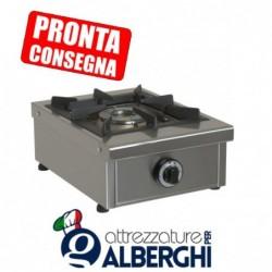 Fornellone a gas struttura in acciaio inox 340x490x210h mm