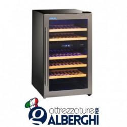 Vetrina refrigerata – Cantina vino da incasso capacità 10, 14, 38 bottiglie, temperatura +5/+10°C +10/+18°C, Dimensioni 49