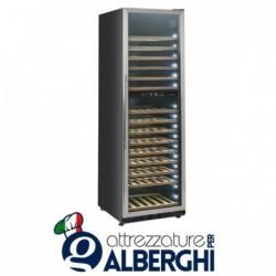 Vetrina refrigerata – Cantina vino free standing capacità 70, 174, 208 bottiglie, temperatura +5/+10 +10/+18°C, Dimensioni
