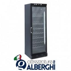 Vetrina refrigerata – Cantina vino free standing capacità 35 bottiglie, temperatura +7+20°C, Dimensioni 600x624x1863h mm