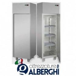 Armadio Refrigerato monoblocco in Acciaio Inox temperatura 0/+10°C 400 litri