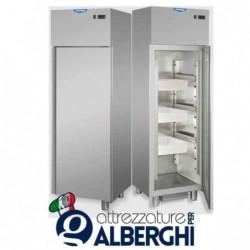 Armadio refrigerato monoblocco in Acciaio Inox temperatura -2+8°C 400 litri per Pesce