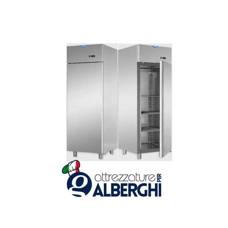 Armadio refrigerato 600 litri in Acciaio Inox predisposto per unità frigorifera remota temperatura 0/+10°C