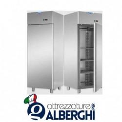 Armadio congelatore 600 litri in Acciaio Inox predisposto per unità frigorifera remota temperatura -18/-22°C