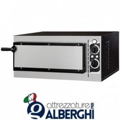 Forno elettrico meccanico per pizzeria – pizza ø32 cm – dimensioni esterne 56.8x50x28 cm