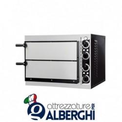 Forno elettrico meccanico per pizzeria – pizza ø32 cm – dimensioni esterne 56.8x50x43 cm