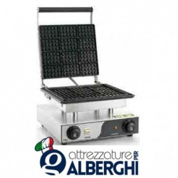 Macchina Waffle machine 1500 W 275×245 mm