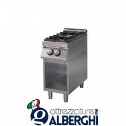 Cucina 2 Fuochi a gas vano a giorno – Dim.cm. 40x70x85h