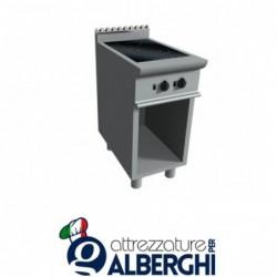 Cucina a induzione 2 zone cottura su vano a giorno - Dim. cm 40x70x85h