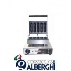 Macchina Waffle machine 1,5 Kw Dimensioni: 340x370x240 mm