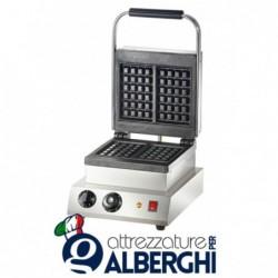 Macchina Waffle machine  2000 W  Dimensioni wa e:160 x 100 mm, altezza circa 32 mm
