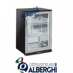Frigo vetrina cella incasso bar ventilata cap. 133 Lt +1°/+10°C
