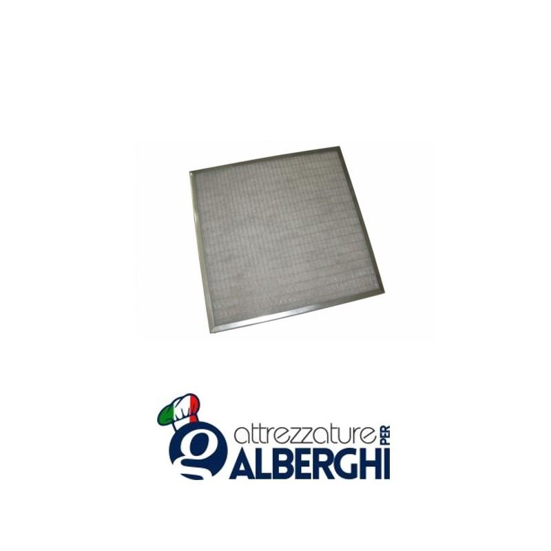 Filtro piano sintetico G2 zincato per cappa – Dim. mm 500x500x12