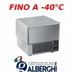 Abbattitore surgelatore di temperatura 3 teglie GN 1/1 senza motore