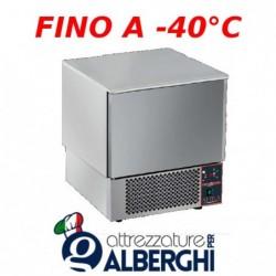 Abbattitore surgelatore di temperatura 5 teglie GN 1/1 senza motore