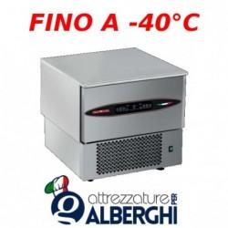 Abbattitore di temperatura in Acciaio Inox con controllo digitale con sensori Touch, per 3 teglie GN1/1 o 600×400 mm senza