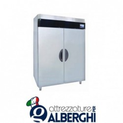 Armadio refrigerato frigo acciaio inox 1400 Lt. TN Serie MACCHEF -18°/-22°C Digitale touch