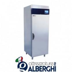 Armadio refrigerato congelatore acciaio inox 900 Lt. TN Serie MACCHEF -15°/-18°C Digitale touch pasticceria/gelateria per teglie