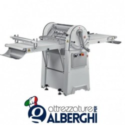 Sfogliatrice manuale con piani estraibili per pasta fresca Pastificio Pizzeria Pasticceria Panificazione Kemplex